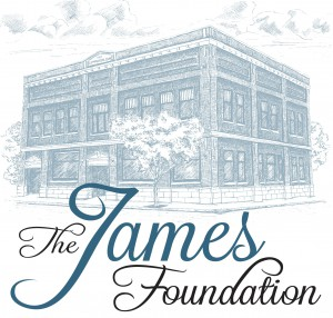 The James Foundation Text and Building Combo